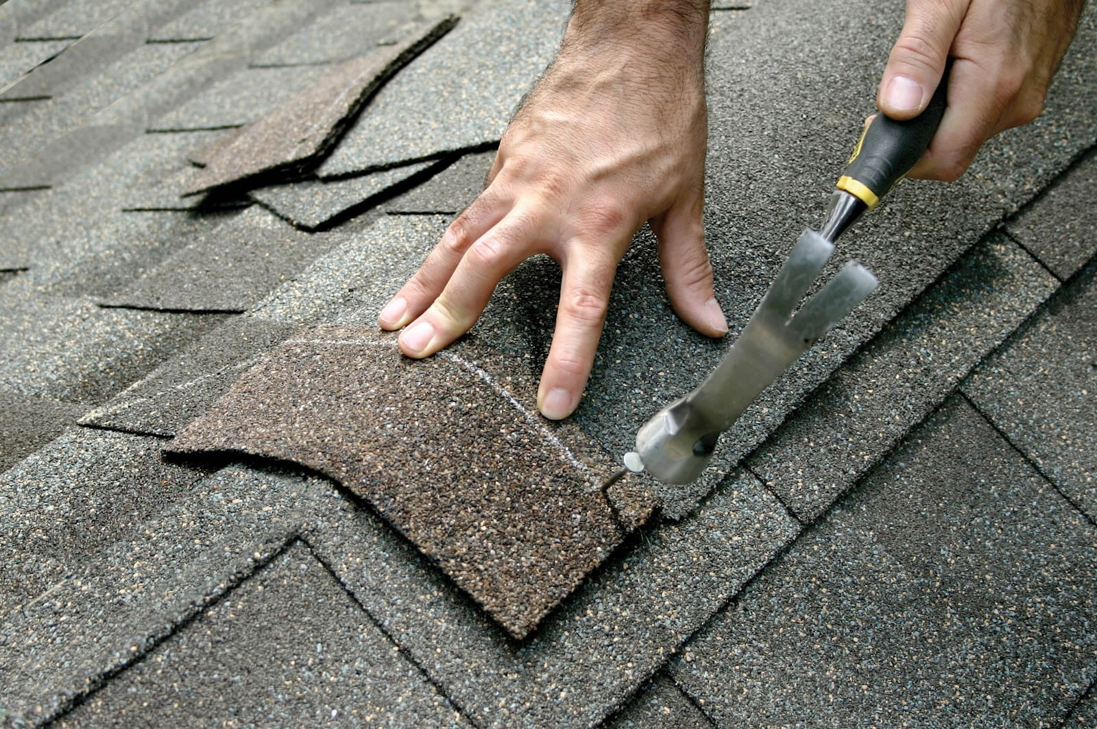 Replace shingles on roof - Roofing Repairs